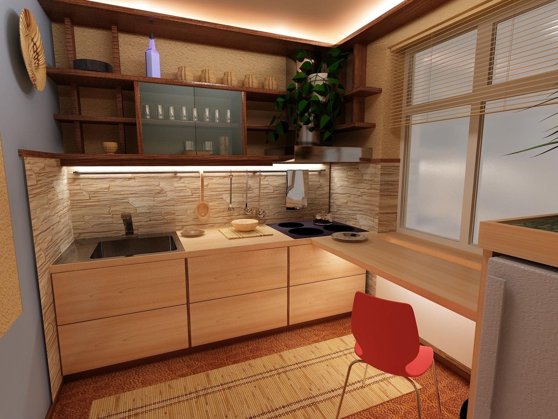 Маленькая кухня ремонт дизайн фото