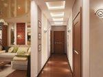 Интерьер коридора в квартире панельного дома – реальные идеи и решения 2018, как визуально расширить длинное помещение в квартире, варианты-проекты интерьера коридора для «хрущевки»