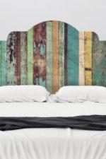 Изголовья для кроватей – деревянное и железное, изогнутое и резное, варианты обивки, высота, с латунными трубками и каретной стяжкой
