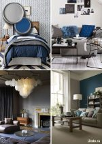 Какие цвета в интерьере сочетаются с серым – Серый цвет в интерьере гостиной и спальни. Сочетание цветов с серым цветом. Фото