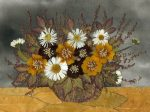 Картины из сухих листьев своими руками – Как сделать картину или панно из сухих цветов и листьев 🚩 панно из сухоцветов 🚩 Дизайн