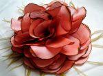 Мастер класс цветок из ткани – Секреты волшебного хобби – изготовление цветов из ткани своими руками горячим способом