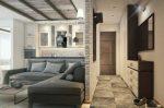Однокомнатная квартира ремонт дизайн фото – Дизайн однокомнатной квартиры. 50 фото-идей оформления современного интерьера 1 комнатных квартир
