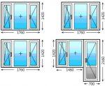 Окно пластиковое стандартное размеры – стандарт параметров пластиковых стеклопакетов в частном доме, ширина конструкции в панельном и в «хрущевке»