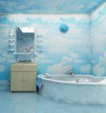 Ремонт ванной комнаты фото пластиковыми панелями – Ремонт и отделка ванной комнаты пластиковыми панелями стеновыми, видео, фото красивых панелей ПВХ в ванную комнату, правила установки