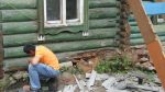 Сгнил нижний венец в деревянном доме – Как частично или полностью заменить нижний венец деревянного дома своими руками с поднятием конструкции и без него. Как поменять сгнившие нижние венцы в деревянном доме