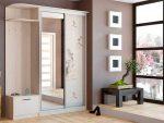 Шкаф купе зеркальный угловой – фото зеркального и углового в коридоре, модное пескоструйное, высота 250 см, со шкафчиком и двухдверный