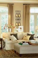 Шторы бежевые фото – занавески какого цвета подходят к коричневой мебели, как правильно подобрать сочетания оттенков