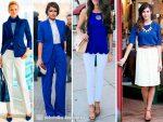 Сочетание цветов желтого и синего – С каким цветом сочетается синий в одежде, правильные комбинации оттенков (23 фото)