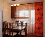 Дизайн окна на кухне с балконом фото – фото окна, занавески и тюль, дизайн совмещенного с выходом, готовые, современные новинки, видео
