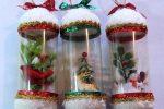 Новогодние поделки из пластиковых бутылок своими руками фото – Поделки из пластиковых бутылок на Новый Год