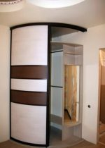 Шкаф купе изогнутый – Радиусный шкаф-купе в прихожую (50 фото): полукруглые закругленные радиальные модели