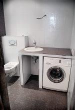 Столешница для ванной комнаты под стиральную машину и раковину фото – Раковина со столешницей под стиральную машину (25 реальных фото в интерьере): удачные варианты размещения