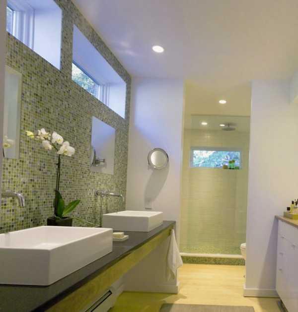Мода на экологически чистые материалы распространилась и на интерьер ванной  комнаты. Так стало возможным использовать дерево 68f20977c0cdf
