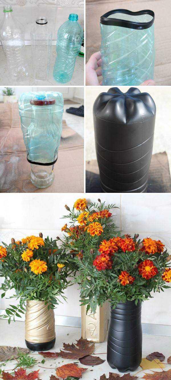 Своими руками цветочную вазу