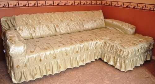 выкройка чехол на угловой диван как сшить своими руками легкий